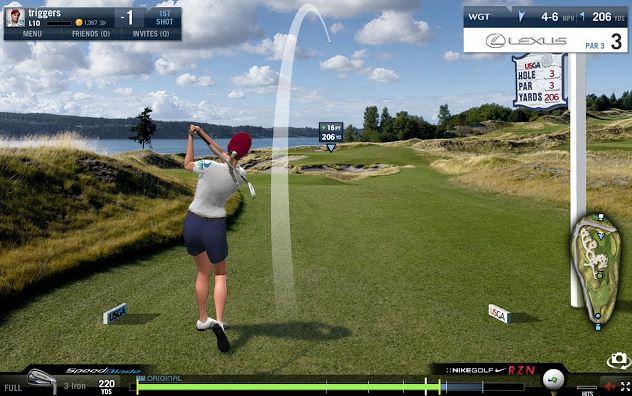 Golfspel till Android och iphone mobil