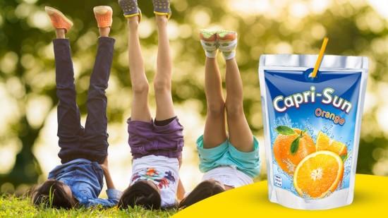 Apelsinjuice Capri-Sun