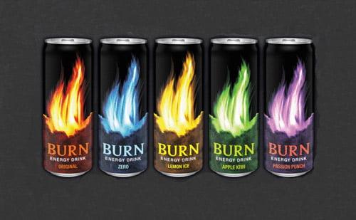 Energidryck burn