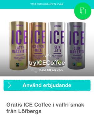 Iskaffe från Löfbergs