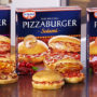 Pizzaburger av Dr Oetker