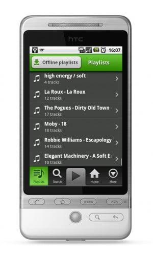 Spotify mobil