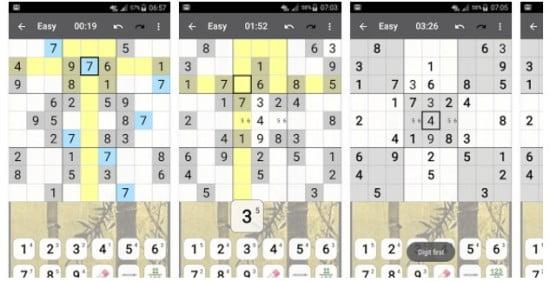 Sudoku mobilspel