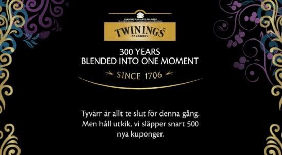 Twinings te