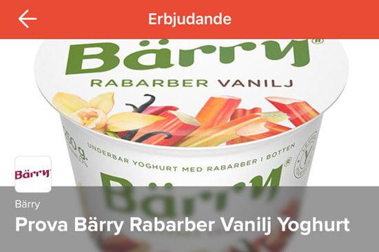 Yoghurt Bärry